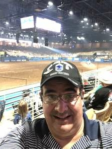 Aquilino Arguelles attended Ram National Circuit Finals Rodeo - Military Appreciation Night on Apr 9th 2021 via VetTix