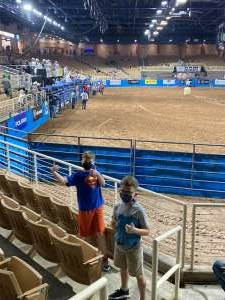 TSHIV attended Ram National Circuit Finals Rodeo - Military Appreciation Night on Apr 9th 2021 via VetTix