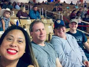 Connor attended Ram National Circuit Finals Rodeo - Military Appreciation Night on Apr 9th 2021 via VetTix