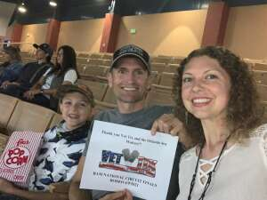 Adam attended Ram National Circuit Finals Rodeo - Military Appreciation Night on Apr 9th 2021 via VetTix