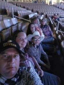 David attended Ram National Circuit Finals Rodeo - Military Appreciation Night on Apr 9th 2021 via VetTix