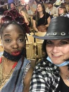 Celeste attended Ram National Circuit Finals Rodeo - Military Appreciation Night on Apr 9th 2021 via VetTix