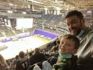Don E attended Monster Jam on Jan 10th 2021 via VetTix