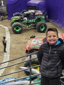 Joe attended Monster Jam on Jan 10th 2021 via VetTix