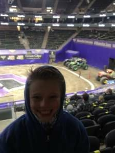 Michael Cowles attended Monster Jam on Jan 10th 2021 via VetTix
