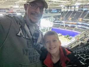 Brandon M attended Monster Jam on Jan 10th 2021 via VetTix