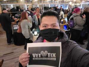 Marc attended Texas Whiskey & Cigar Festival on Jan 9th 2021 via VetTix
