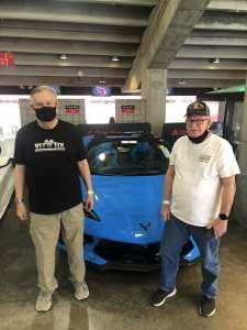 Pastor (1LT, USAFR) Dave Poedel attended Glendale 2021 at State Farm Stadium Presented by Mecum Auctions on Mar 17th 2021 via VetTix