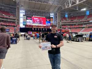 Emery attended Glendale 2021 at State Farm Stadium Presented by Mecum Auctions on Mar 17th 2021 via VetTix