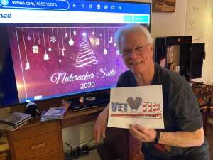 Kerry attended Boulder Ballet Presents the Nutcracker Suite - a Virtual Twist on the Holiday Classic on Dec 25th 2020 via VetTix