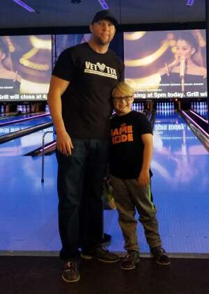 Kyle attended Bowling Fatcats on Dec 24th 2020 via VetTix