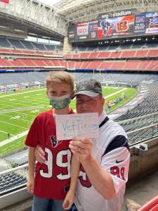 Click To Read More Feedback from Houston Texans vs. Cincinnati Bengals - NFL