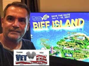 Porfirio attended Virtual VIP Access for Bahamas International Film Festival on Jan 4th 2021 via VetTix