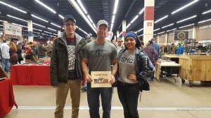Mike attended Original Ft Worth Gun Show on Jan 2nd 2021 via VetTix