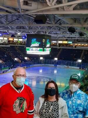 Tom G attended Florida Everblades vs.Orlando Solar Bears- ECHL on Jan 2nd 2021 via VetTix