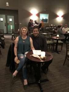 Rob attended Vicki Barbolak on Jan 1st 2021 via VetTix