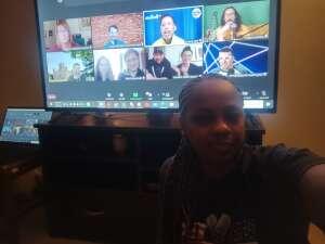 Achinatt attended The Laugh Tour: Virtual Stand Up Comedy Via Zoom on Jan 2nd 2021 via VetTix