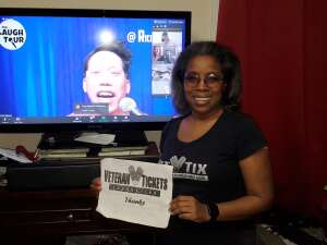 Q. attended The Laugh Tour: Virtual Stand Up Comedy Via Zoom on Jan 16th 2021 via VetTix