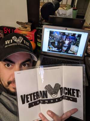 Ed attended The Laugh Tour: Virtual Stand Up Comedy Via Zoom on Jan 23rd 2021 via VetTix