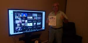 Rich attended The Laugh Tour: Virtual Stand Up Comedy Via Zoom on Jan 23rd 2021 via VetTix