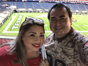 AG Ramirez attended Houston Texans vs. Tennessee Titans - NFL on Jan 3rd 2021 via VetTix