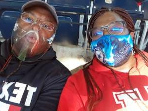 Kelvin attended Houston Texans vs. Tennessee Titans - NFL on Jan 3rd 2021 via VetTix