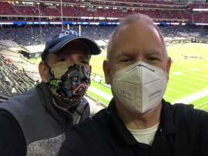 JP attended Houston Texans vs. Tennessee Titans - NFL on Jan 3rd 2021 via VetTix