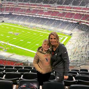 Erin attended Houston Texans vs. Tennessee Titans - NFL on Jan 3rd 2021 via VetTix