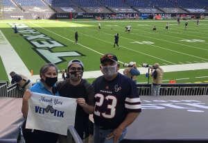 AJordan attended Houston Texans vs. Tennessee Titans - NFL on Jan 3rd 2021 via VetTix