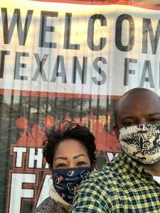 D and S attended Houston Texans vs. Tennessee Titans - NFL on Jan 3rd 2021 via VetTix