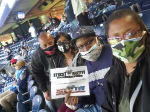 LaFonzo Prince attended Houston Texans vs. Tennessee Titans - NFL on Jan 3rd 2021 via VetTix