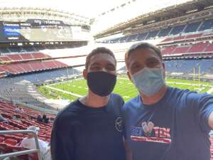 Allan Alexander attended Houston Texans vs. Tennessee Titans - NFL on Jan 3rd 2021 via VetTix