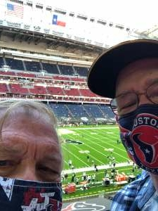 Robert attended Houston Texans vs. Tennessee Titans - NFL on Jan 3rd 2021 via VetTix