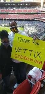 Jamal Williams attended Houston Texans vs. Tennessee Titans - NFL on Jan 3rd 2021 via VetTix