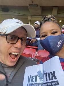 Bokeia Bailey attended Houston Texans vs. Tennessee Titans - NFL on Jan 3rd 2021 via VetTix