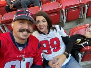 Will G attended Houston Texans vs. Tennessee Titans - NFL on Jan 3rd 2021 via VetTix