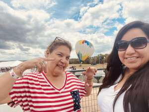 Mari G  attended Fredericksburg Hot Air Balloon Festival & Polo Match on Jul 2nd 2021 via VetTix