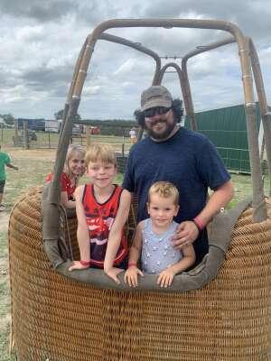 Dallas attended Fredericksburg Hot Air Balloon Festival & Polo Match on Jul 2nd 2021 via VetTix
