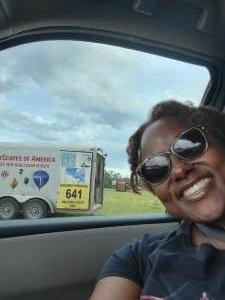 Sheila attended Fredericksburg Hot Air Balloon Festival & Polo Match on Jul 2nd 2021 via VetTix
