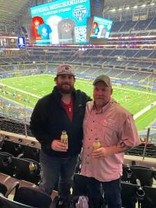 Larry  attended Goodyear Cotton Bowl Classic - Florida vs. Oklahoma - NCAA Football on Dec 30th 2020 via VetTix