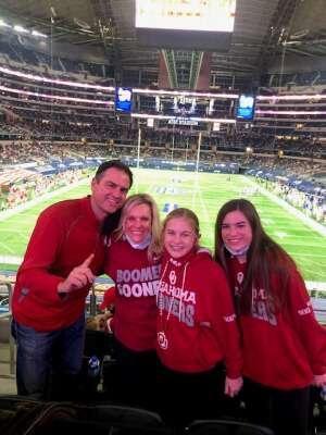 Sean Horner & Friends attended Goodyear Cotton Bowl Classic - Florida vs. Oklahoma - NCAA Football on Dec 30th 2020 via VetTix