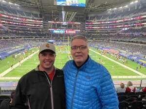 Garrett attended Goodyear Cotton Bowl Classic - Florida vs. Oklahoma - NCAA Football on Dec 30th 2020 via VetTix