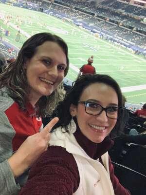 Megan attended Goodyear Cotton Bowl Classic - Florida vs. Oklahoma - NCAA Football on Dec 30th 2020 via VetTix