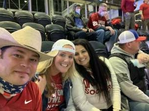 Rick  attended Goodyear Cotton Bowl Classic - Florida vs. Oklahoma - NCAA Football on Dec 30th 2020 via VetTix