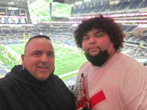 Ed attended Goodyear Cotton Bowl Classic - Florida vs. Oklahoma - NCAA Football on Dec 30th 2020 via VetTix