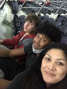 Lena Raybon attended Goodyear Cotton Bowl Classic - Florida vs. Oklahoma - NCAA Football on Dec 30th 2020 via VetTix