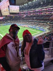 JT attended Goodyear Cotton Bowl Classic - Florida vs. Oklahoma - NCAA Football on Dec 30th 2020 via VetTix