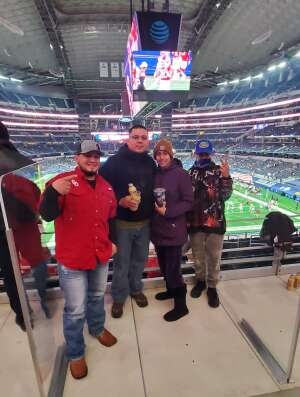 Lionel attended Goodyear Cotton Bowl Classic - Florida vs. Oklahoma - NCAA Football on Dec 30th 2020 via VetTix