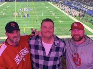 DrewDFW attended Goodyear Cotton Bowl Classic - Florida vs. Oklahoma - NCAA Football on Dec 30th 2020 via VetTix
