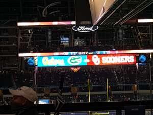Cora attended Goodyear Cotton Bowl Classic - Florida vs. Oklahoma - NCAA Football on Dec 30th 2020 via VetTix